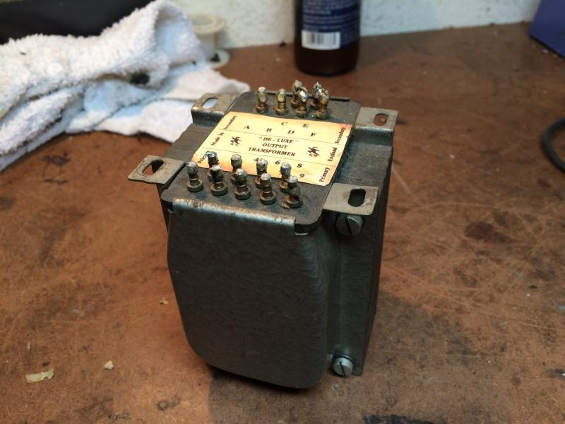 RS DELUXE OUTPUT TRANSFORMER