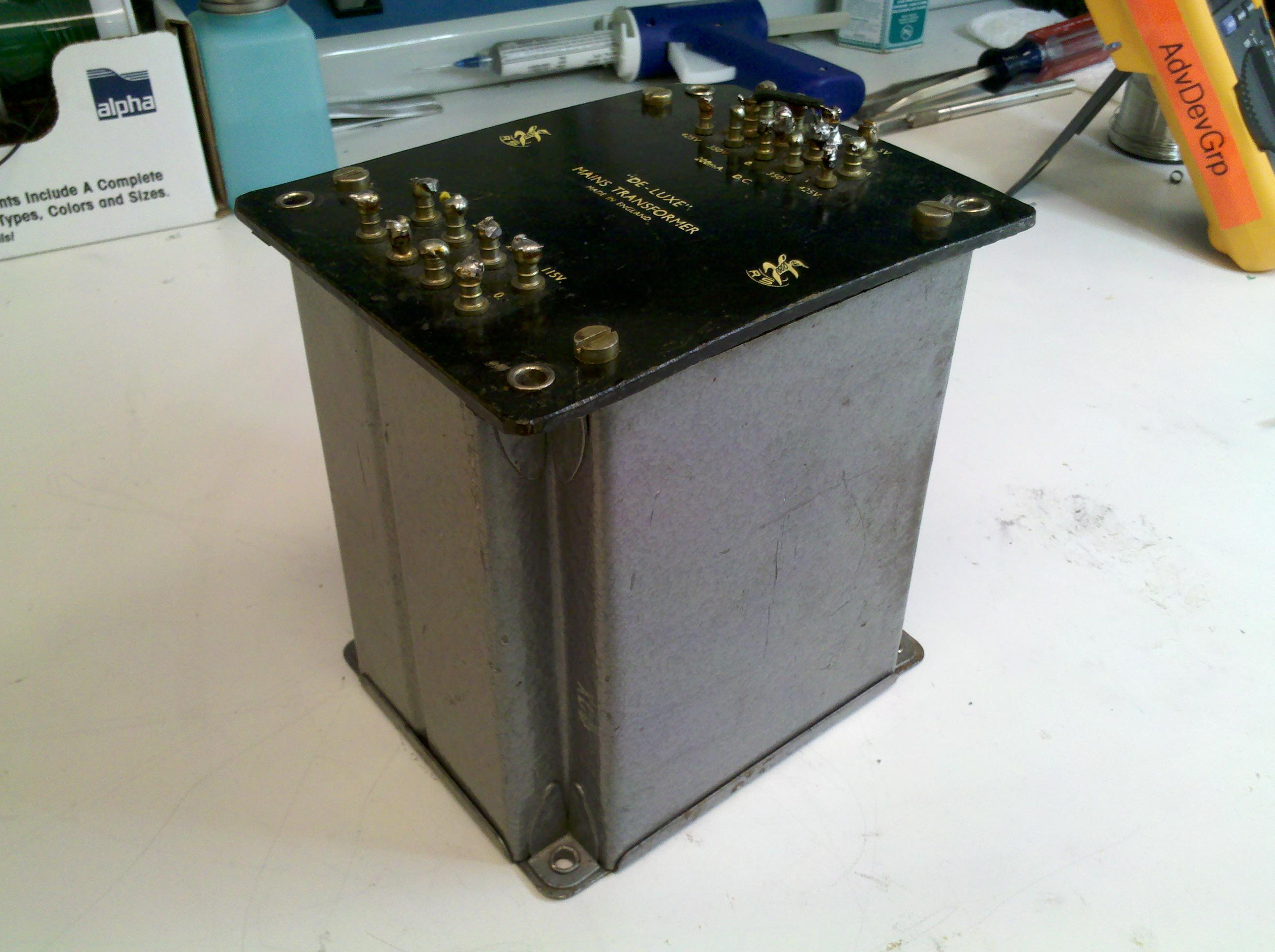 RS DELUXE MAINS TRANSFORMER